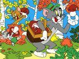 Том и Джерри - Дары леса - Tom and Jerry - Coloring: Forest Surprise