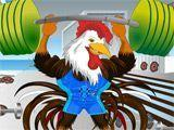 Индюк штангист - Weight Lifting Rooster