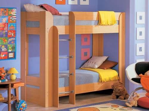 двухярусные детские кроватки