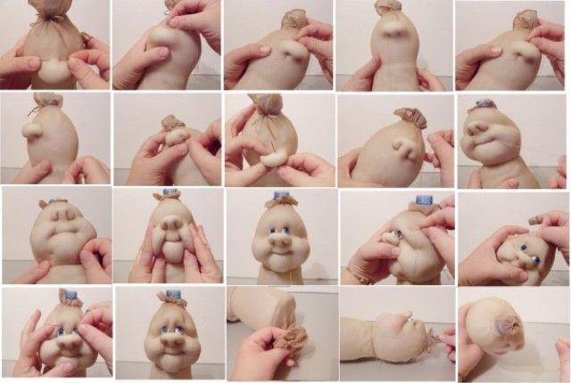 Куклы из колготок капроновых своими руками