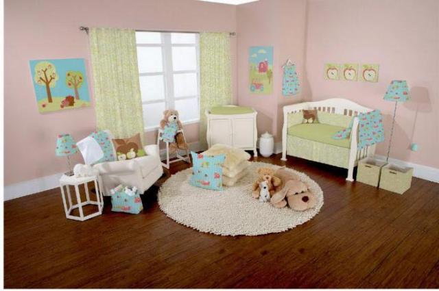 Выбор напольного покрытия для детской комнаты