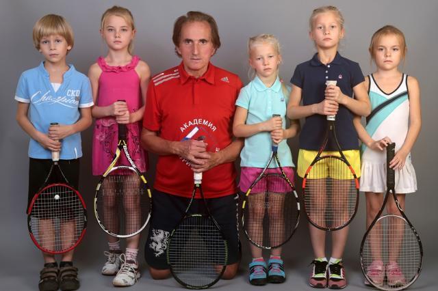 Детский теннис и Заури Абуладзе