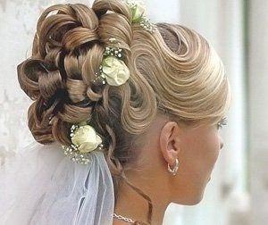 Модные прически на свадьбу – основные тренды 2015 года