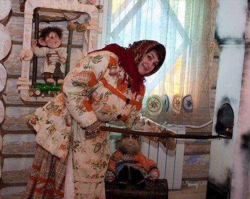 Домовая тётя Валя.