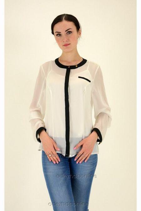 Блузы с длинным рукавом недорого