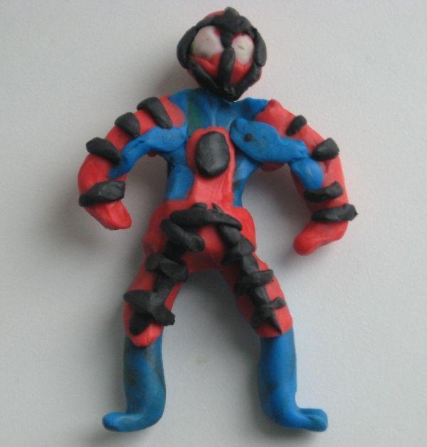 дальше про Пластилиновый Человек-Паук