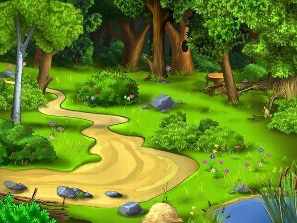что же там дальше за лесом