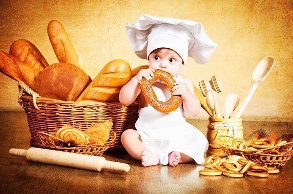 Правила приготовления выпечки для детей